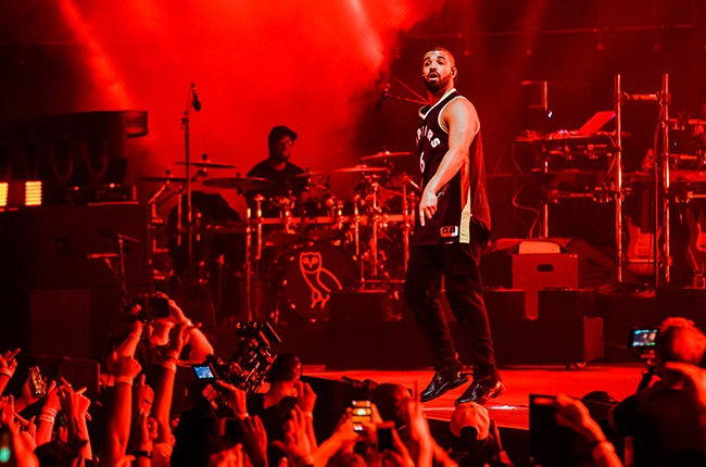 Drake performs during 2015 OVO Fest