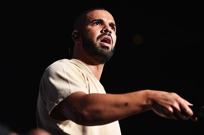 Drake performs onstage at Hot 107.9 Birthday Bash Block Show 2015
