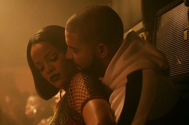 "Rihanna's ""Work"" featuring Drake, 2016."