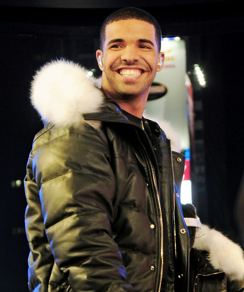 Drake attends New Year's Eve 2012 With Carson Daly in Times Square on Dec. 31, 2011 in New York City.
