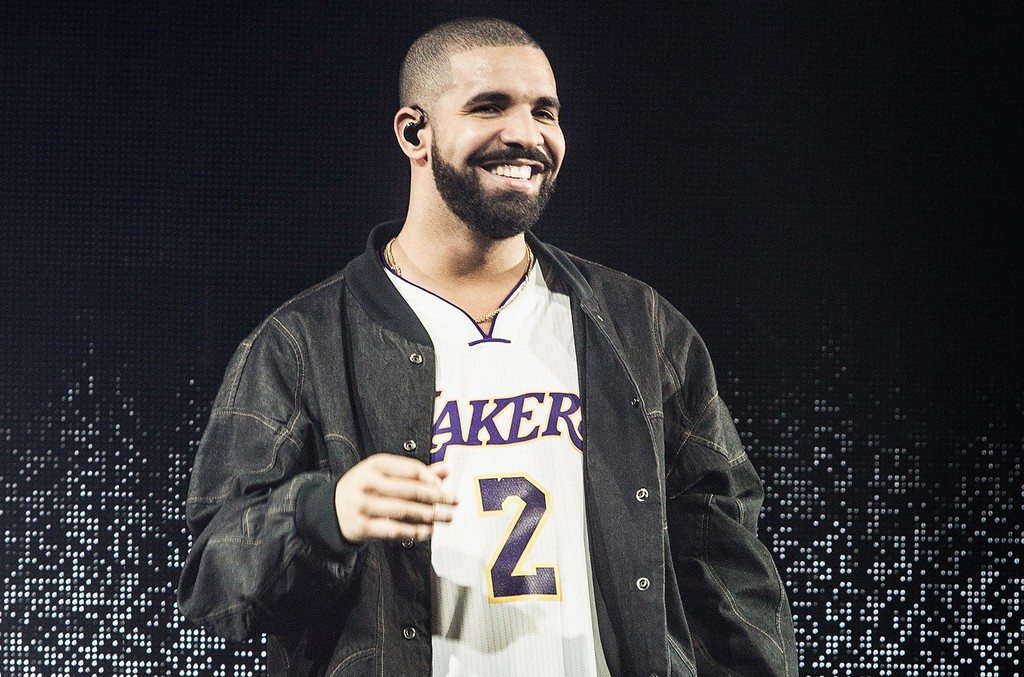 Drake performs at The Forum