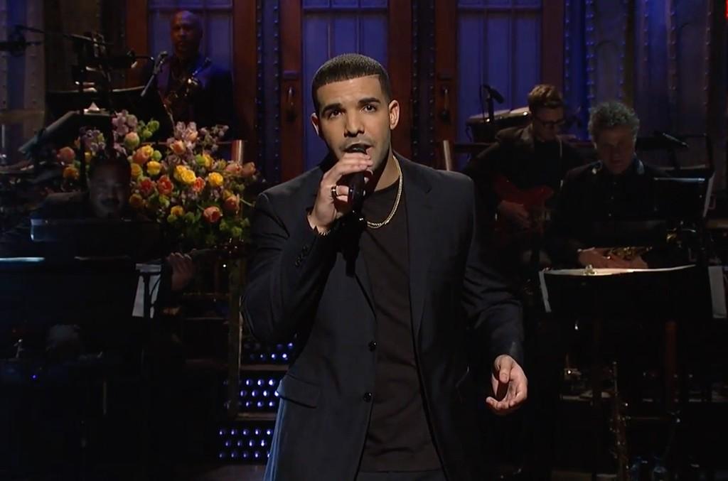 Drake on SNL, 2016