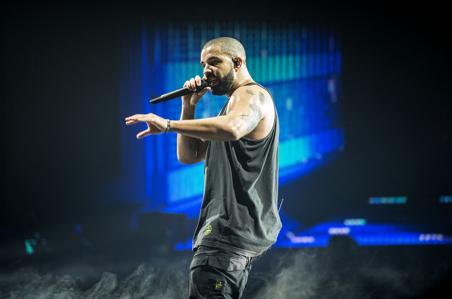 Drake performs at The SSE Hydro on March 23, 2017 in Glasgow, United Kingdom.