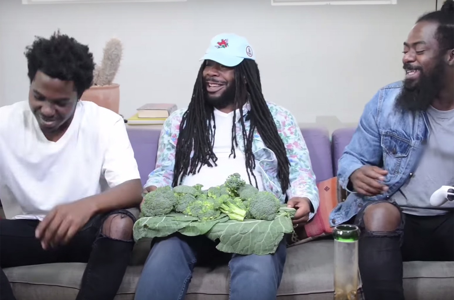 Exclusive! Outtakes with D.R.A.M. for Broccoli.