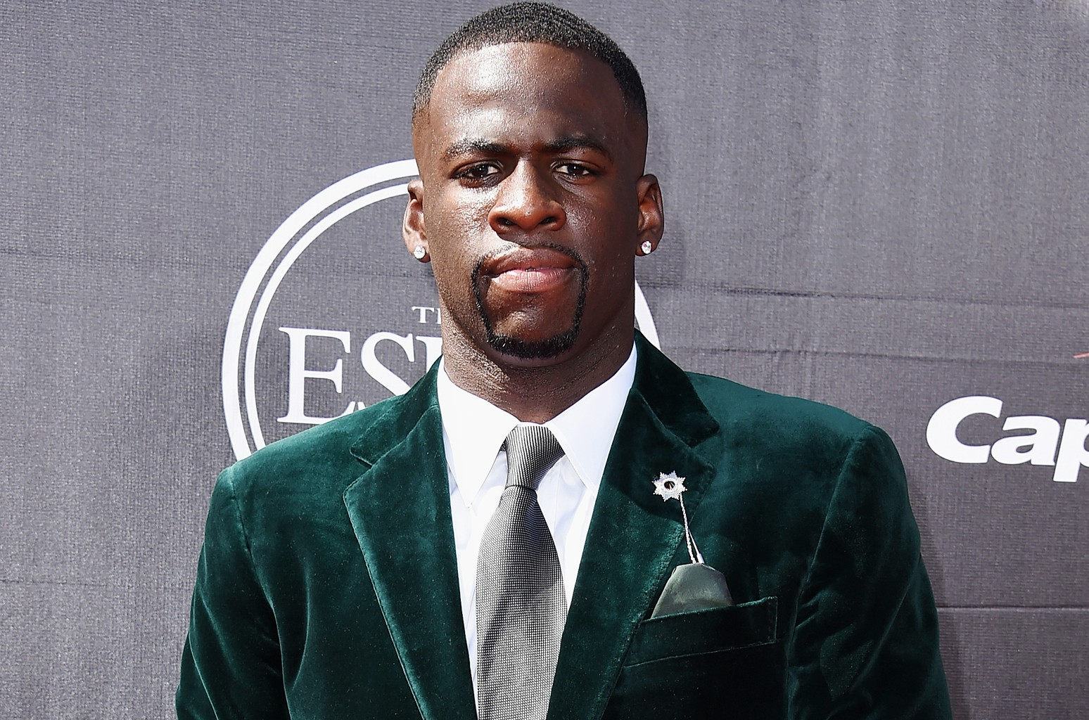 NBA player Draymond Green attends The 2015 ESPYS at Microsoft Theater on July 15, 2015 in Los Angeles.