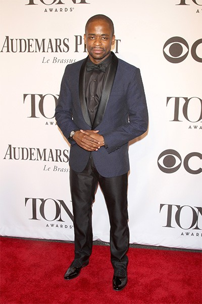 Dule Hill attends the 68th Annual Tony Awards