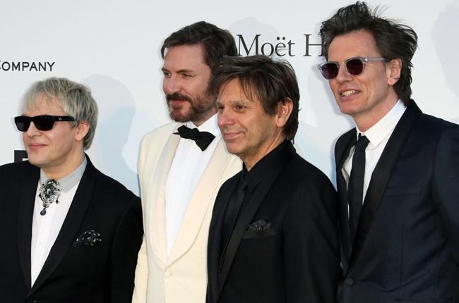 Roger Taylor, Nick Rhodes, Simon Le Bon and John Taylor of Duran Duran