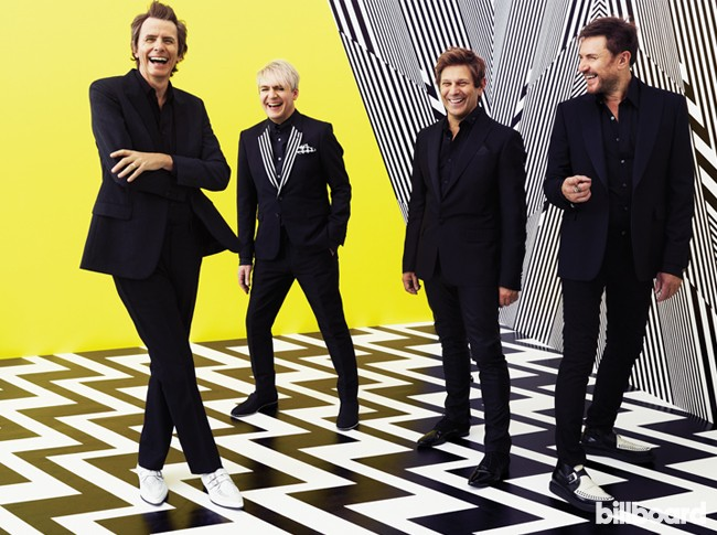 Duran Duran photographed on June 30, 2015 at The Worx in London.