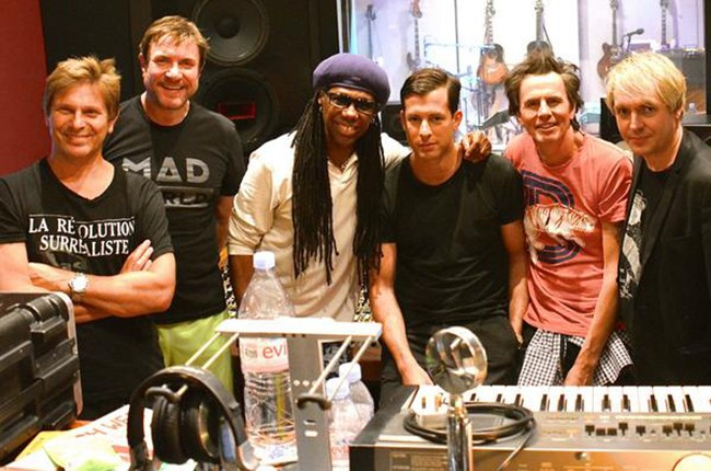 Duran Duran with Nile Rodgers