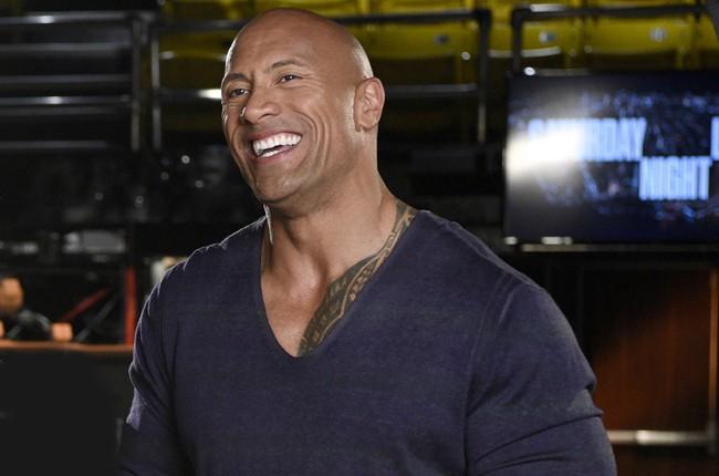 "Dwayne ""The Rock"" Johnson hosts SNL on March 28, 2015."