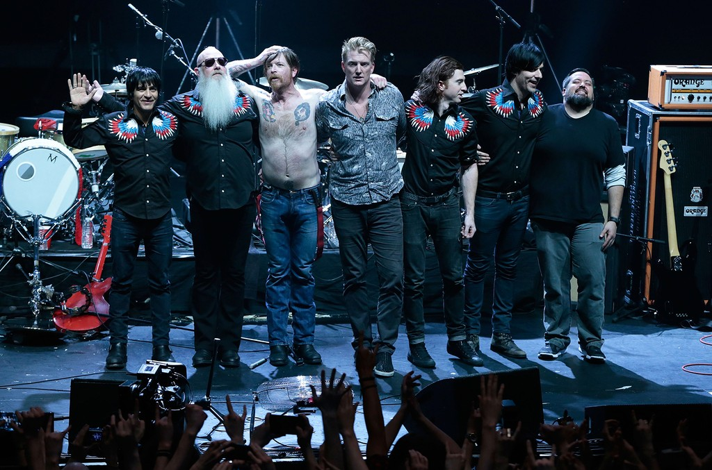 Eagles of Death Metal at L'Olympia in Paris