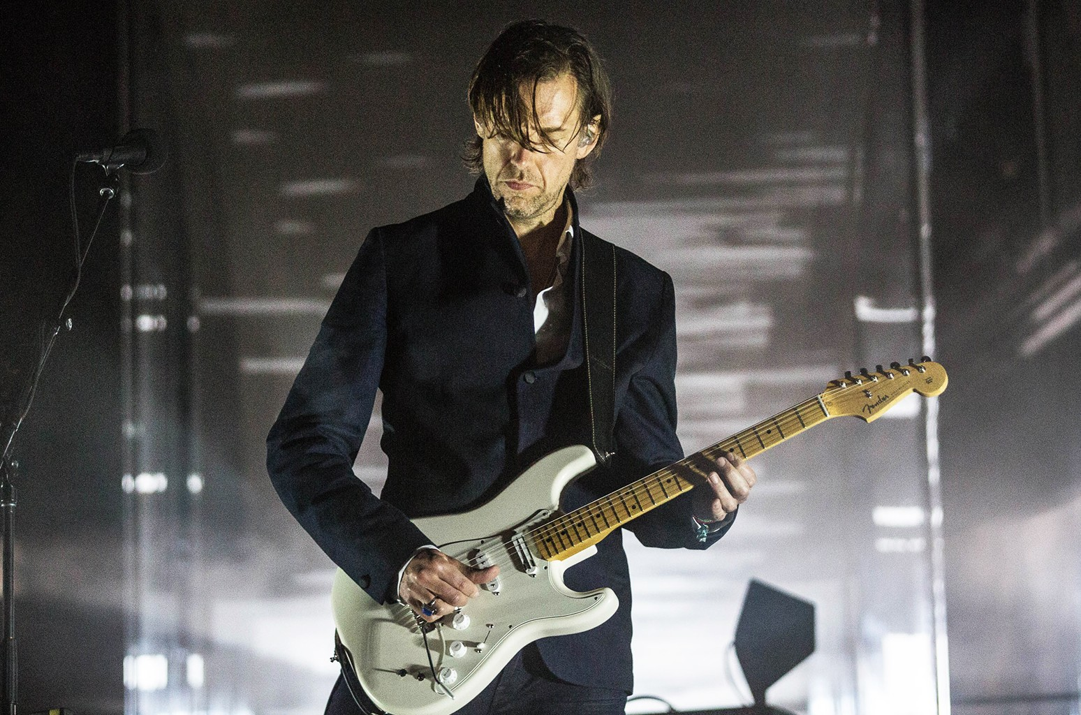 Ed O'Brien of Radiohead performs at Primavera Sound
