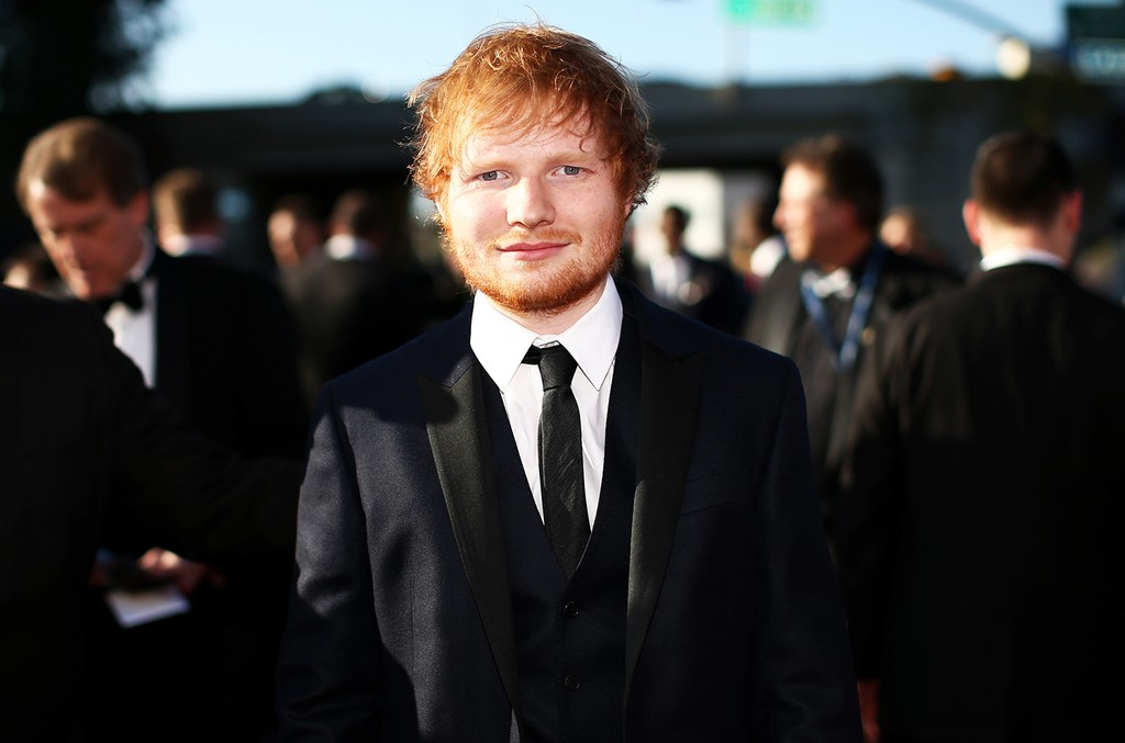 Ed Sheeran attends The 57th Annual Grammy Awards at the Staples Center on Feb. 8, 2015 in Los Angeles.