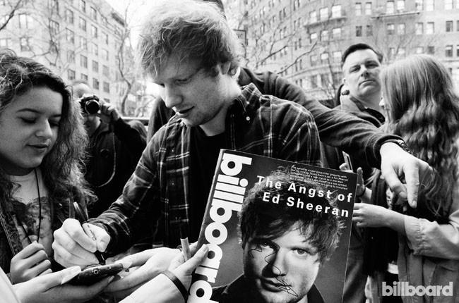 Ed Sheeran Billboard Day In The Life