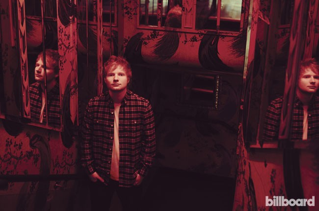 Ed Sheeran covers Billboard