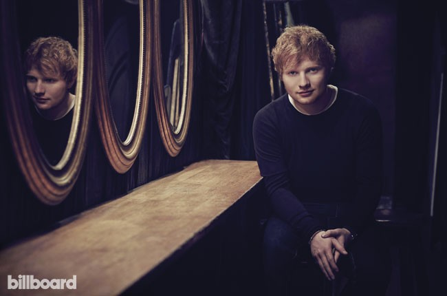 Ed Sheeran covers Billboard