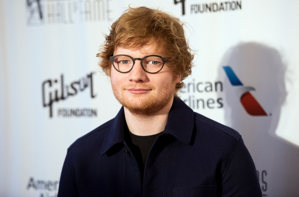 Ed Sheeran attends the 48th Annual Songwriters Hall Of Fame Induction and Awards Gala at New York Marriott Marquis Hotel on June 15, 2017 in New York City.  (Photo by Noam Galai/WireImage)