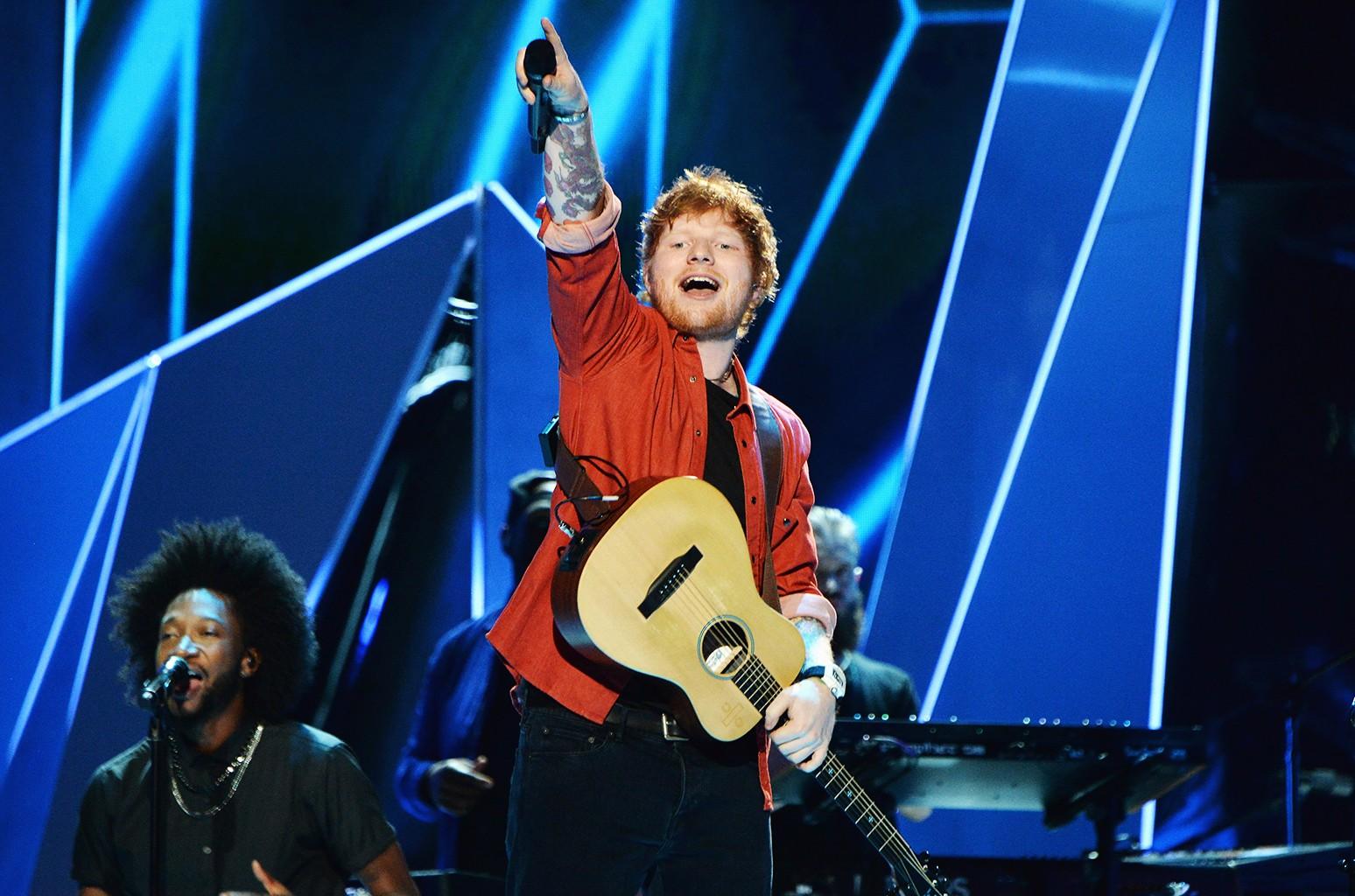 Ed Sheeran, 2017