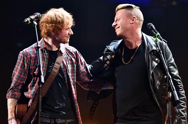 Ed Sheeran and Macklemore