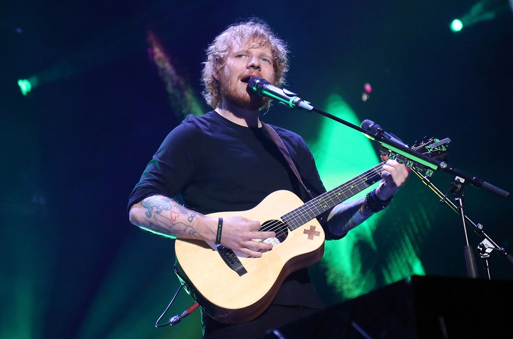 Ed Sheeran performs at Air Canada Centre