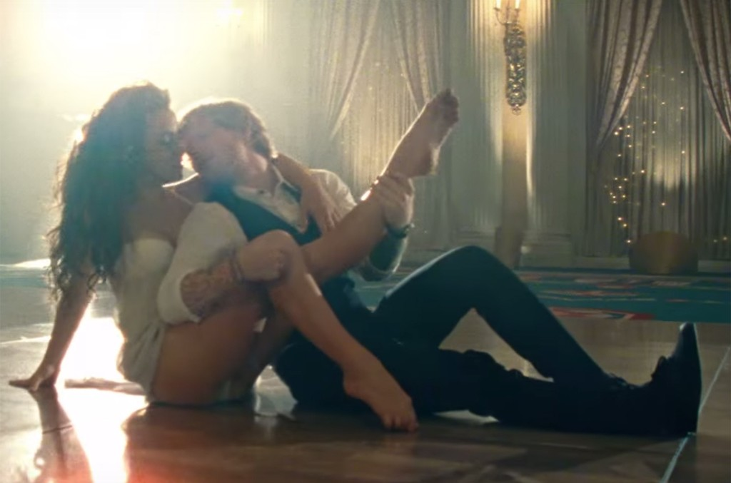 Ed Sheeran in the video for Thinking Out Loud.