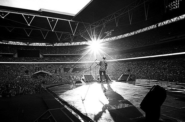 """Ed Sheeran gives television audiences a front row seat to his sold out summer headlining shows at London's Wembley Stadium in a one-hour NBC special, titled """"Ed Sheeran - Live at Wembley Stadium,"""" airing Sunday, August 16"""
