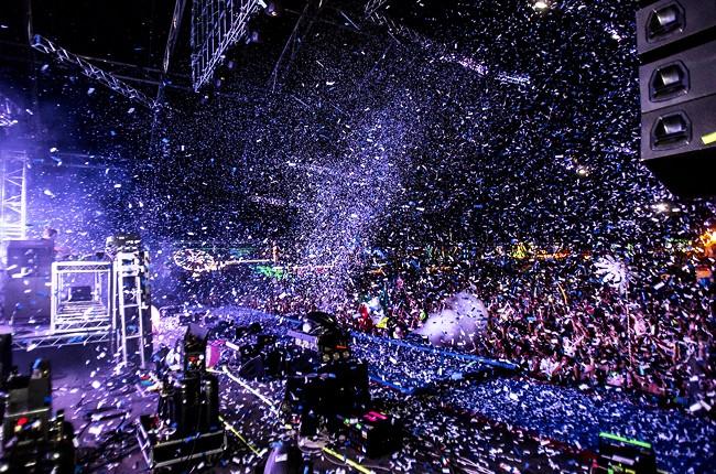 Calvin Harris at EDC Las Vegas 2014