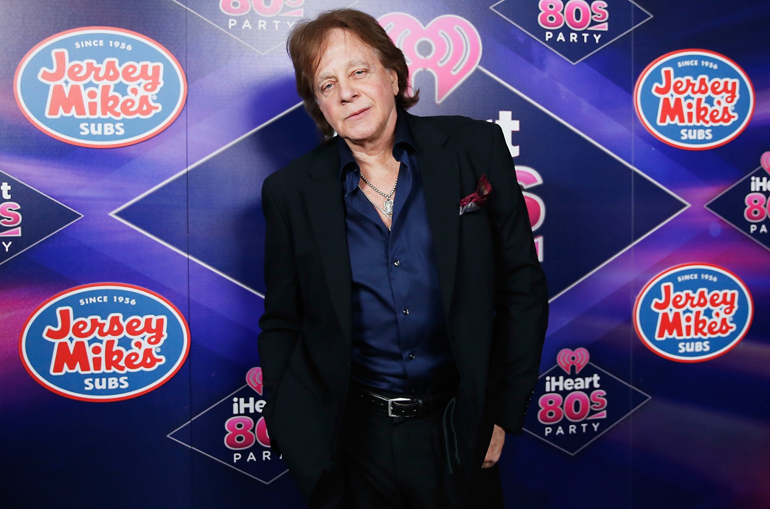 Eddie Money attends the iHeart80s Party 2017 at SAP Center on Jan. 28, 2017 in San Jose, Calif.