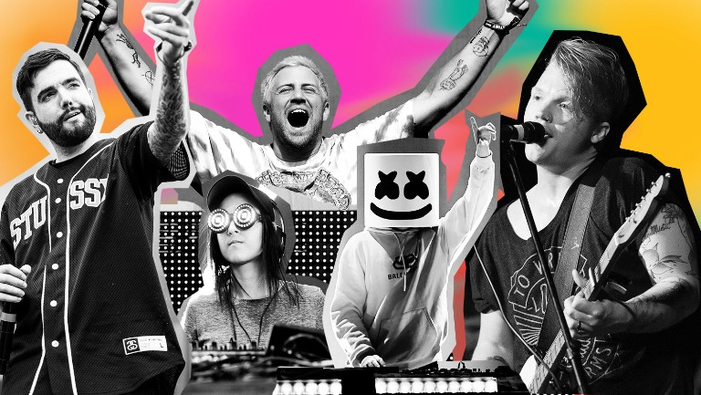Headbanger's Rave: Why Electronic Artists Like Rezz, Marshmello & Kayzo Are Making Rock-Influenced EDM