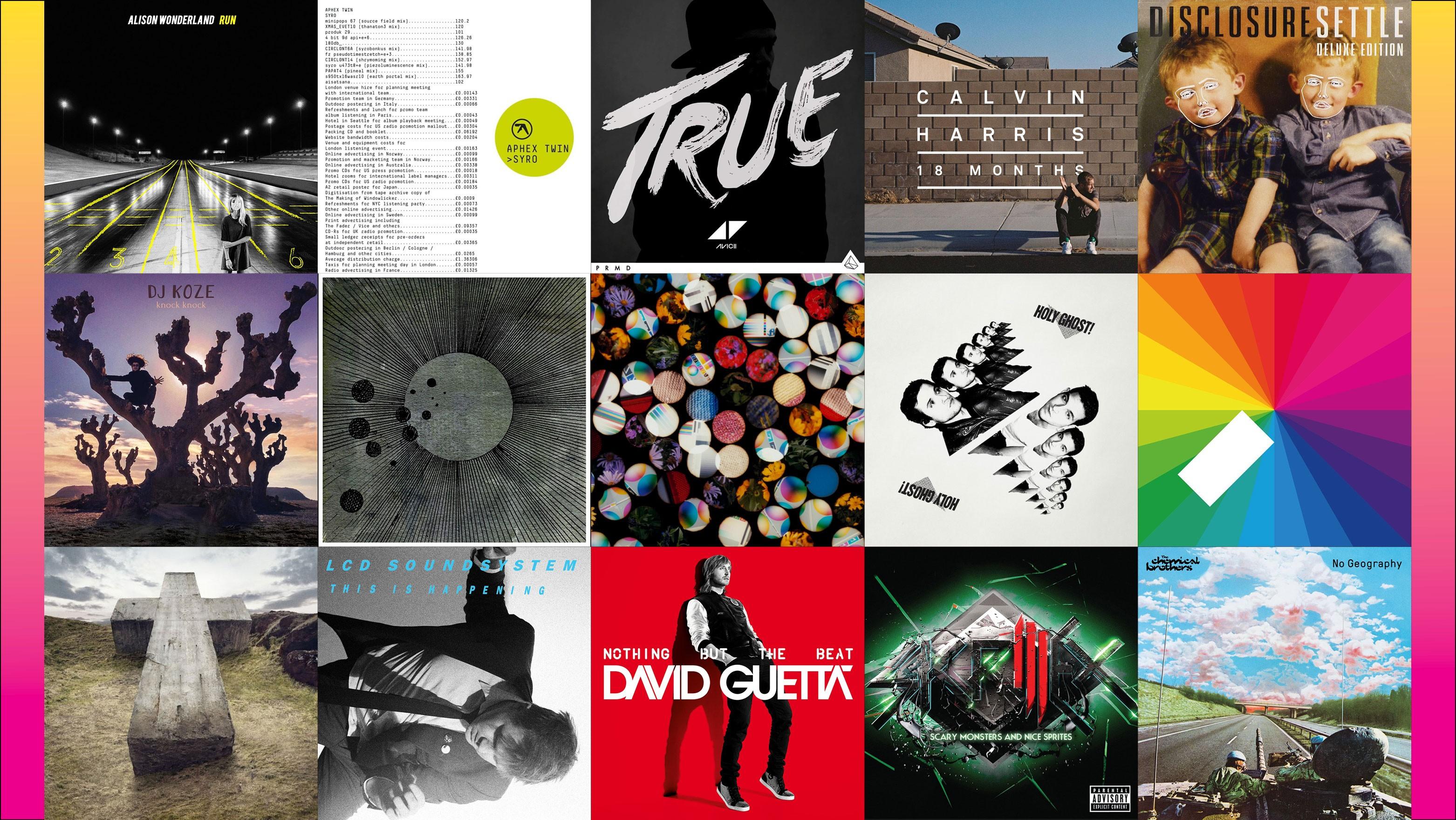 40 Best Dance Albums Of The Decade Billboard Billboard