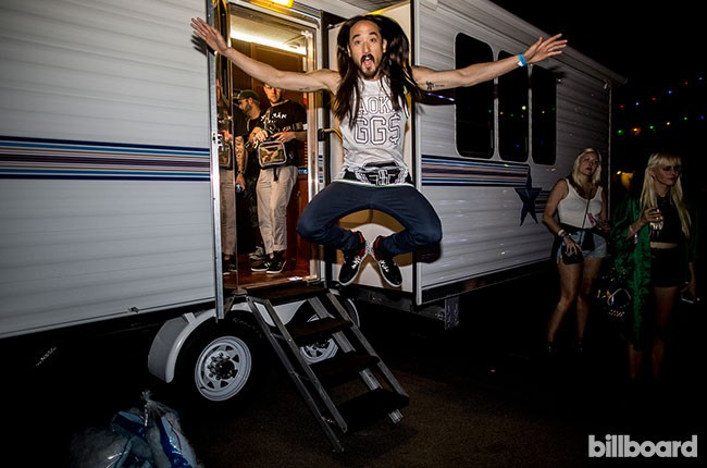Steve Aoki at Electric Daisy Carnival Las Vegas 2014
