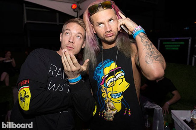 Diplo and Riff Raff at Electric Daisy Carnival Las Vegas 2014