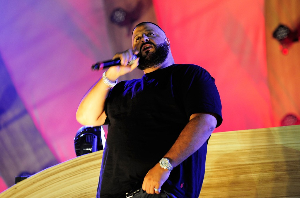 DJ Khaled performs during the 21st annual Electric Daisy Carnival at Las Vegas Motor Speedway on June 19, 2017 in Las Vegas.