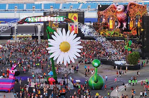 2014 Electric Daisy Carnival at Las Vegas