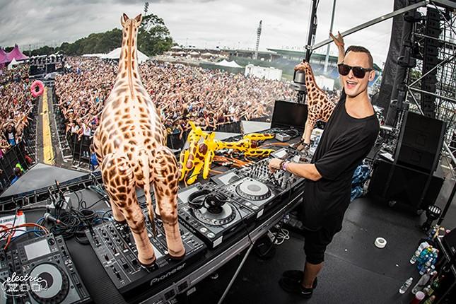 Electric Zoo 2014: Makj