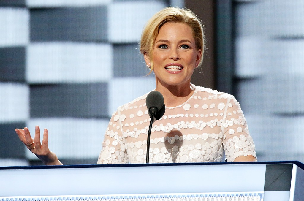 Elizabeth Banks at the 2016 Democratic National Convention