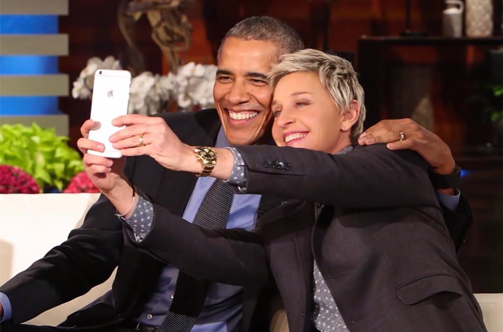 Video still from Ellen DeGeneres' tribute to the Obamas.