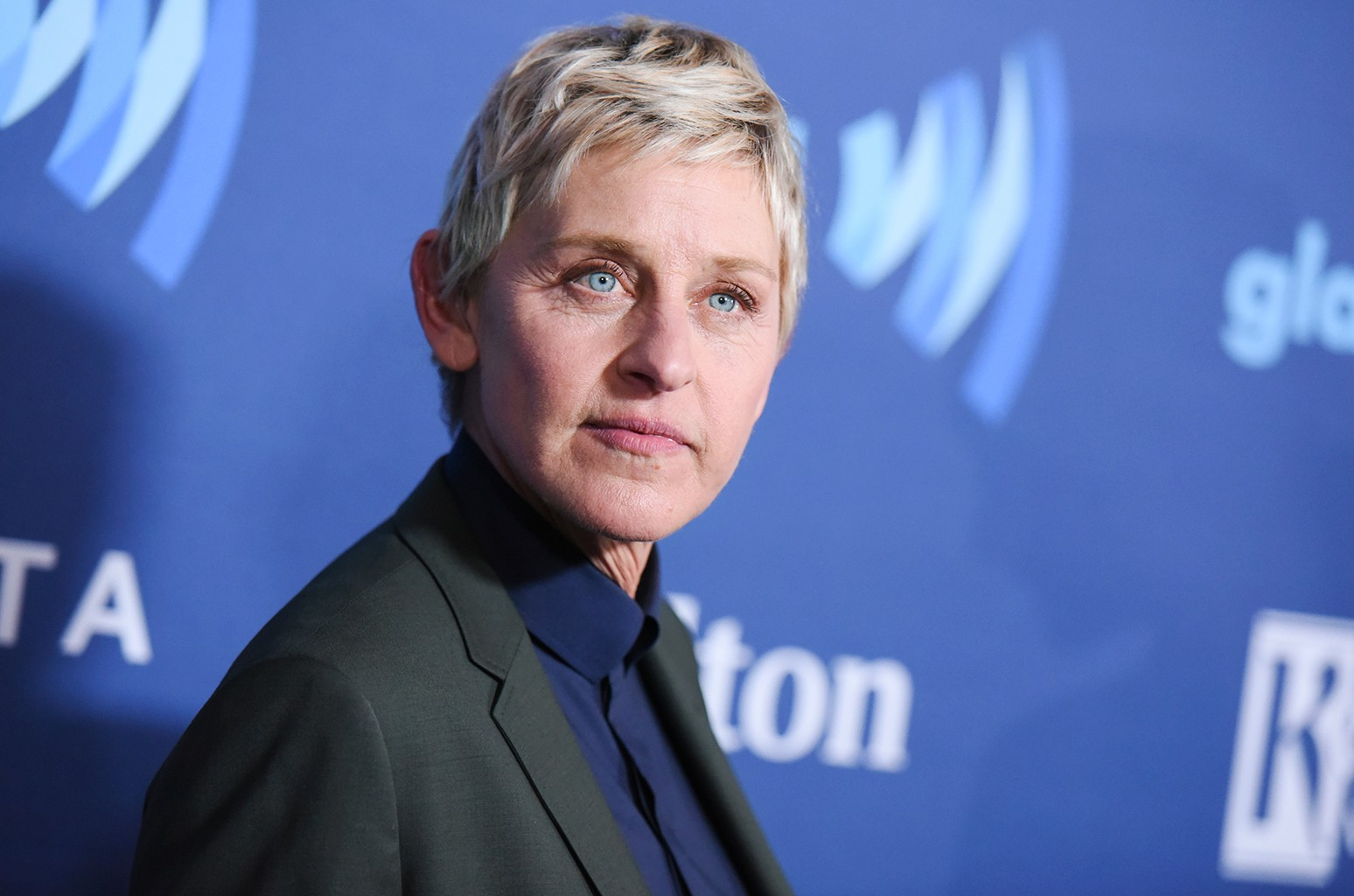 Ellen DeGeneres arrives at the 26th Annual GLAAD Media Awards held at the Beverly Hilton Hotel on March 21, 2015 in Beverly Hills, Calif.