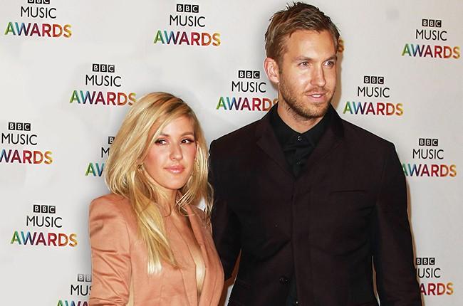 Ellie Goulding and Calvin Harris