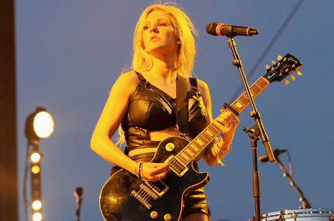 Ellie Goulding performs onstage during day 1 of Coachella 2014