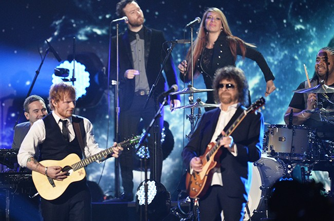 Jeff Lynne's ELO and Ed Sheeran