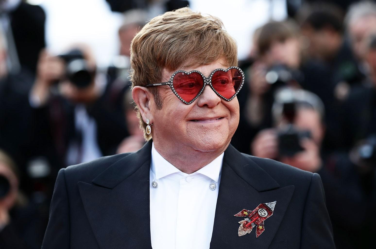 Elton John Cannes