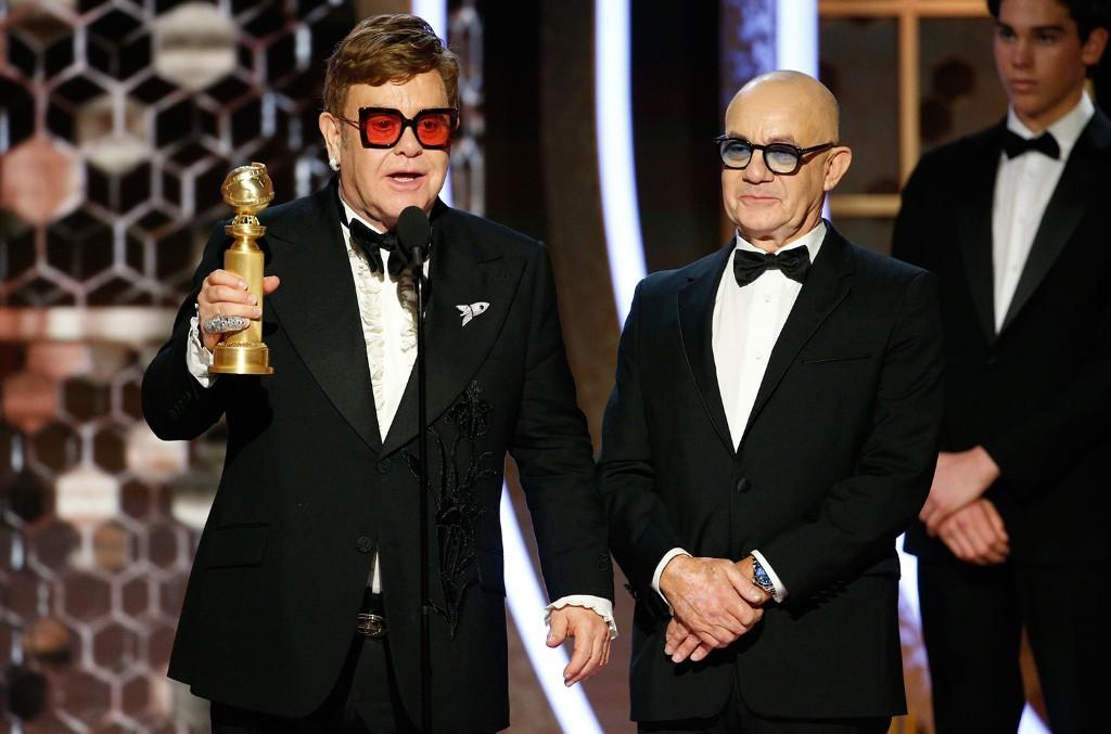 Sir Elton John and Bernie Taupin, Golden Globes