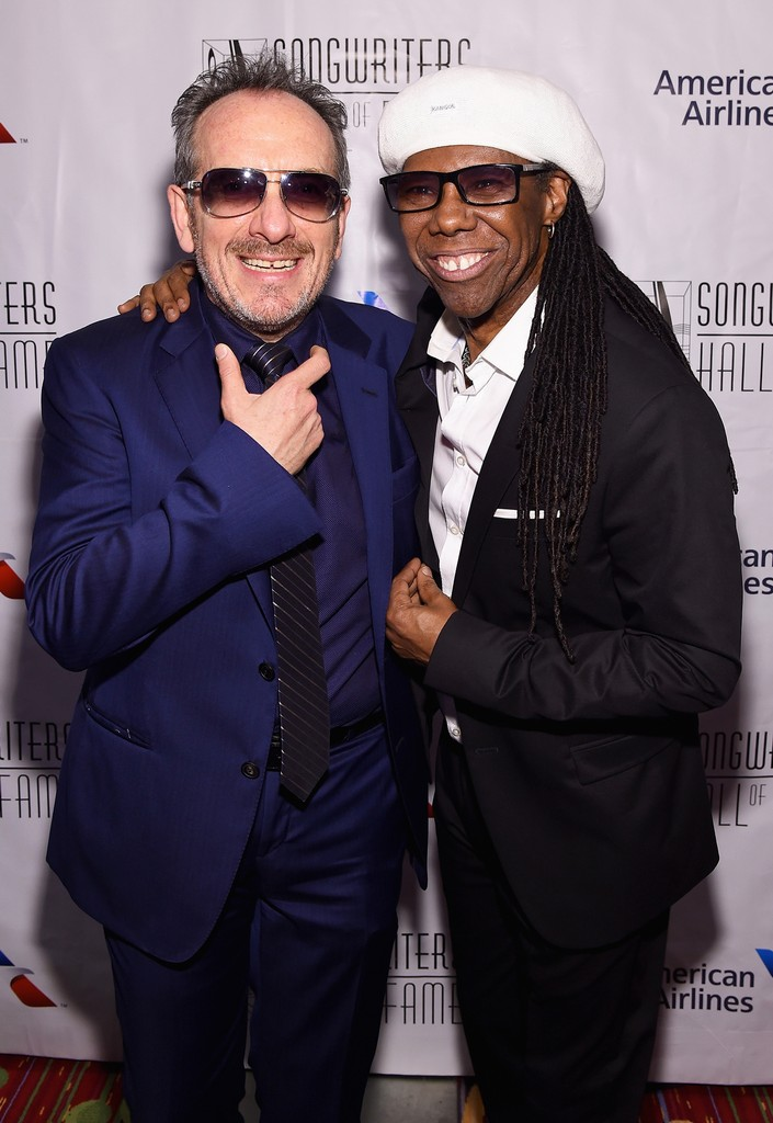Elvis Costello and Nile Rodgers
