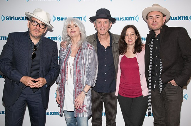 Elvis Costello, Emmylou Harris and Rodney Crowell