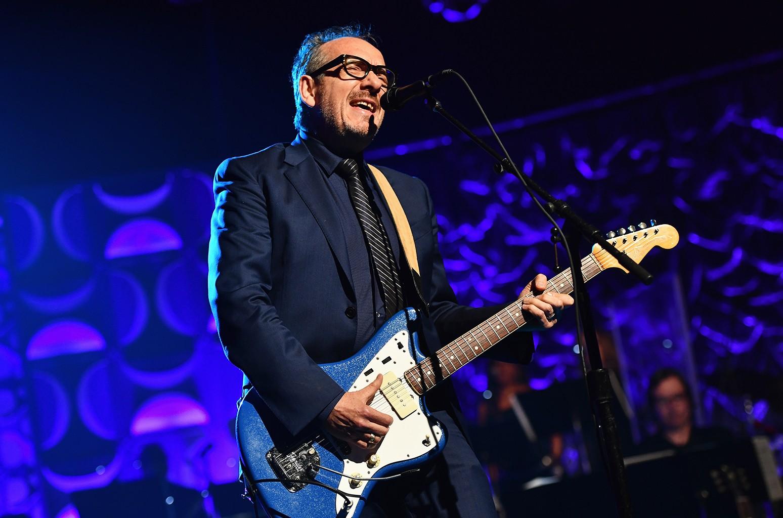 Elvis Costello performs in 2016