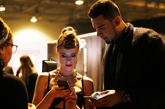 Kiesza and Afrojack -- 2014 MTV EMA