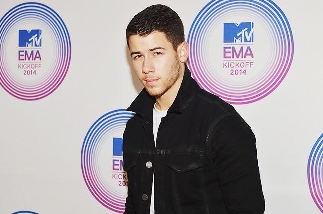 Nick Jonas attends the 2014 MTV EMA Kick Off