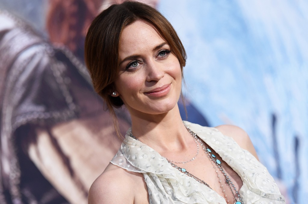 Emily Blunt photographed in 2016