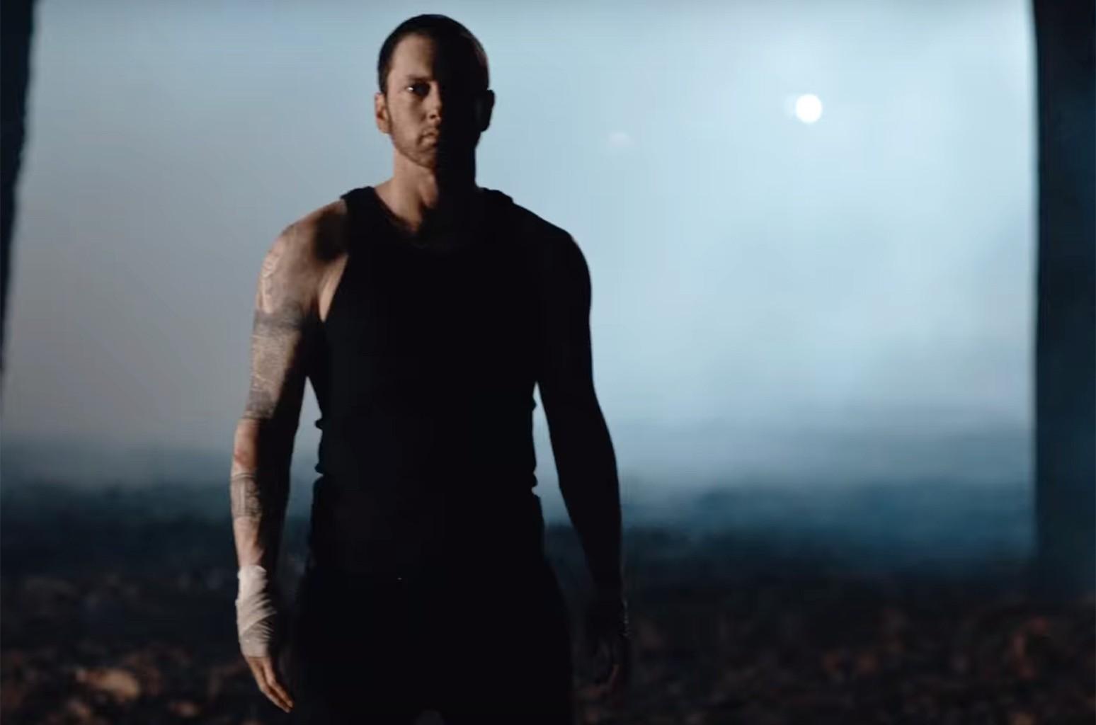 """Eminem, """"Framed"""""""